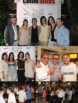 Coctel de bienvenida a los asistentes a la reunión del Centro de estudios Odonto-Estomatológicos en Benicàssim