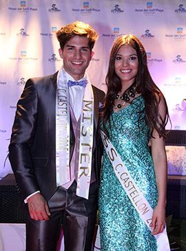 Federica Ferro y Xavi Cortés, Miss y Mr. Ciudad de Castellón