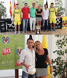 Presentación de la II Futsal Cup y la XV Villareal Cup