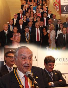 Acto de nombramiento de Vitorio Menezo Rozalen como nuevo presidente del Club Rotary de Castellón