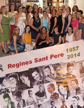 Cena homenaje de las reinas de Sant Pere