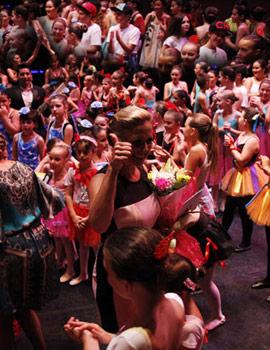 Primera sesión del XIX festival de Danza de COPPELIA en el Teatro Principal