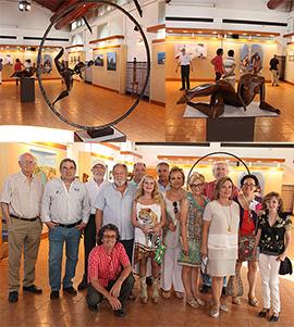Exposición de Beni-Art en el Edificio Moruno del Grao de Castellón