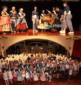 Cena de gala de las reinas de las fiestas del Grao de Castellón