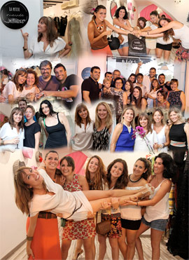 Divertida inauguración de  La Petite Mariée, nueva tienda de moda en Castellón