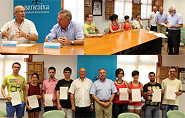 Fundación Caja Castellón entrega 10 becas de investigación sobre medio ambiente 2015