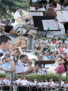 Concierto Festival de la Òpera de la Banda de Música de Castellón de Los Concerts al Templet del Grau 2015