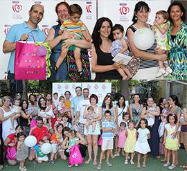 Entrega de premios del concurso de Cadena 100