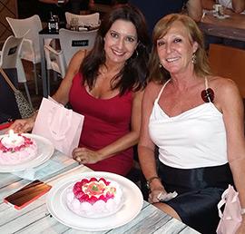 Fiesta de cumpleaños de Carmen y Gemma
