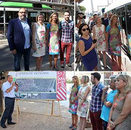 Mejoras en los horarios del servicio y posibles cambios en el trazado del TRAM de Castellón
