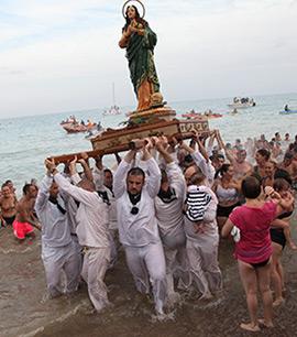 Desembarco de Santa María Magdalena en Moncofa
