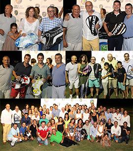 Entrega de trofeos de la Liga de Verano de Pádel en el Club de Golf Costa de Azahar