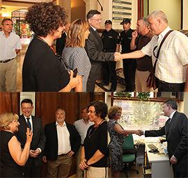 Ximo Puig visita la Delegación del Consell en Castellón