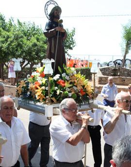 Fiesta en honor a San Jaime en Castellón