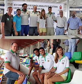Presentación del XCV Campeonato de España absoluto de atletismo 2015