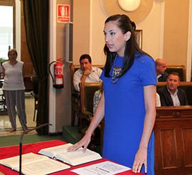 María España Novoa toma posesión como concejala del Grupo Municipal Popular