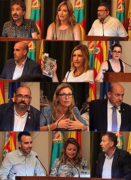 Se aprueban cuatro declaraciones institucionales en el Pleno ordinario del Ayuntamiento de Castellón