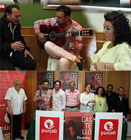 Presentación del Primer Festival Flamenco en Castellón