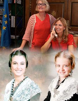 Carolina Tárrega Beltran y Lola Marco Alors reinas Magdalena 2016