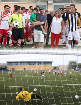 La solidaridad ganó el partido de fútbol del CD Benicàssim y CD Castellón