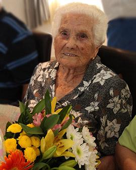 Carmen Bellés Fabregat cumple 100 años
