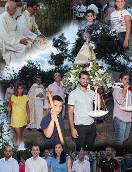 Fiesta de la Virgen del Lledó en la ermita de Sant Francesc de la Font