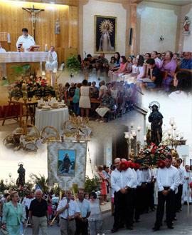Celebración de la fiesta de Sant Roc en Nules