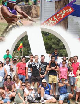 Las familias de la Fundación  Borja Sánchez visitan el Festival Rototom Sunsplash