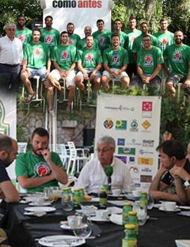Amics Castelló presenta su equipo para la nueva temporada a los medios de Castellón