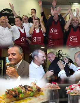 I Cena Exclusiva con 8 grandes Chefs de la provincia de Castellón