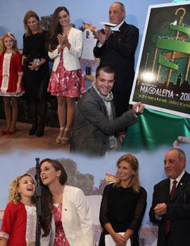 Inauguración de la exposición de los 47 carteles de las fiestas Magdalena 2016 presentados a concurso