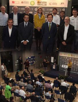 Presentación oficial del Maratón BP Castellón, que se celebrará el próximo 6 de diciembre