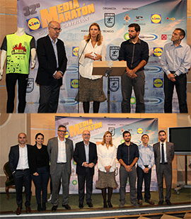 Presentación de la XXXII Media Maratón de Castellón
