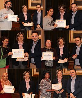 Entrega de diplomas en Castellón del programa familiar La Llar