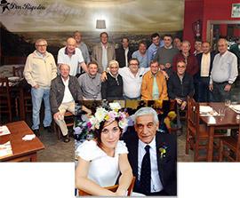 Divertida y entrañable cena con Miguel Sanz