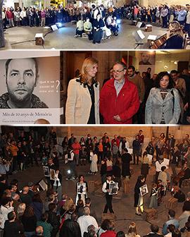 Más de 10 Años de Memoria, exposición en Castellón