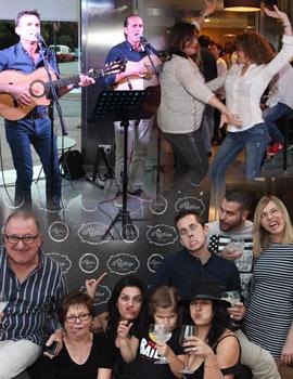 Sobremesa con música flamenca hasta el anochecer en Rústico restaurante