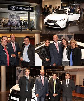 Presentación de los nuevos Lexus RX 450h y RC 300h en Castellón