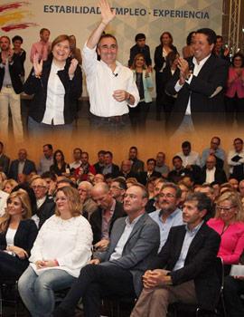 Acto de presentación de los candidatos del Partido Popular Castellón para las próximas elecciones generales