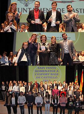 XXIV Fiesta Homenaje al Deporte Base de la Ciudad de Castellón