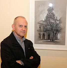 Presentación de la exposición 'Dibuix' de Paco Membrado