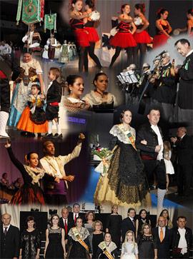 Andrea Pradas Barreda y Mireia García Falomir, Madrinas 2016 de la Gaiata 4, L'Armelar, protagonistas en el Palau de la Festa