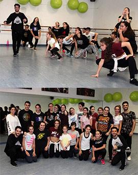 Workshop intensivo de danza urbana en La Zapatilla Roja Fola