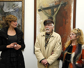Exposición antológica de pintura J.Salomón en Castellón