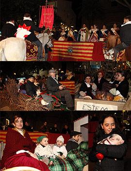 Bendición y reparto de la coqueta en las fiestas patronales de Benicàssim