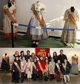 Exposición de trajes regionales Reinas de Benicàssim