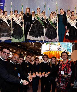 Éxito de Castellón en Fitur con la recreación de la Romería