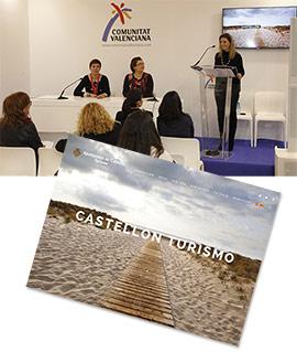Presentación en Fitur de la nueva web Castellón Turismo