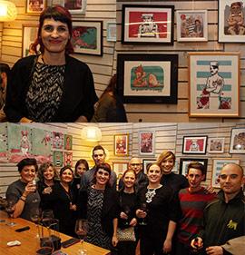 Exposición de Elena Castillo en Divina Comedia de Castellón