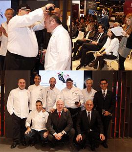 Presentación en Fitur de la incorporación de Miguel Barrera en el hotel NH Mindoro